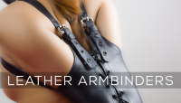 Leather Bondage Armbinders